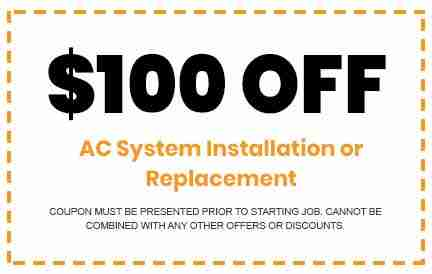 Discounts on AC System Installation
