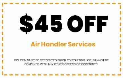 Discounts on Air Handler Services