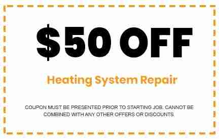 Discounts on Heating System Repair