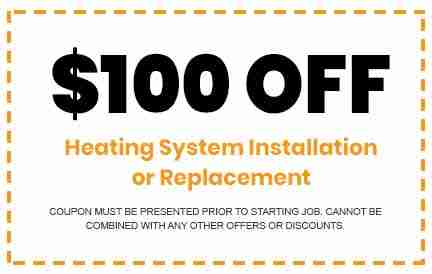 Discounts on Heating System Installation or Replacement